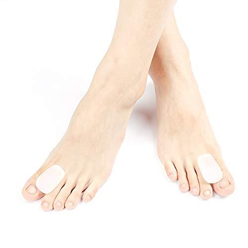 TOECORRE Ortesis de Hallux valgus, Corrección del Hueso del pie Grande, Día y Noche,Silicona,Separador del Dedo del pie, Los Dedos de los pies se superponen,Puede Usar Zapatos,S:suitableforoth