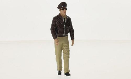 figurine Scot, 0, voiture miniature, Miniature déjà montée, Americains Diorama 1:18