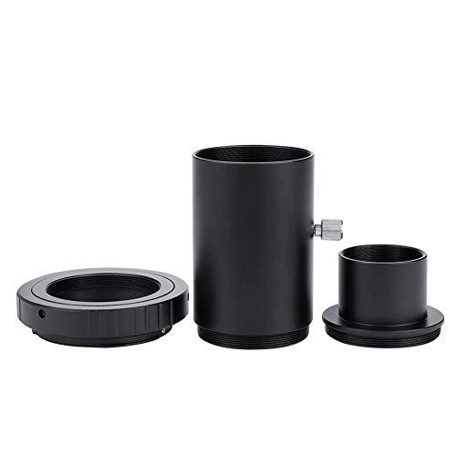 1,25 Zoll Astronomie Teleskop Verlängerungsrohr Kamera Adapter Kit, feststehender Fotografie Okular Verlängerungsrohr M42 Gewinde zur Reduzierung der Reflexion,Manuelle Fokusöffnung T2 Adapter Ring