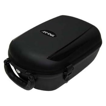 KLICKfix City-Box schwarz 34,5x44x23 cm m Racktimeadapter