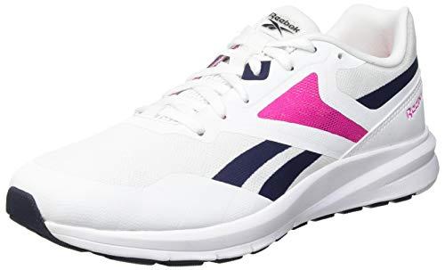Reebok Runner 4.0, Zapatillas de Running Mujer, Blanco/VECNAV/PROUDP, 39 EU
