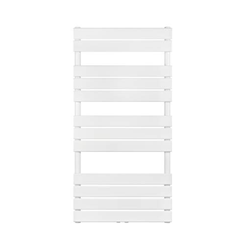 VILSTEIN Badheizkörper, Horizontal, Weiß, Seitenanschluss und Mittelanschluss, 1200x600 mm
