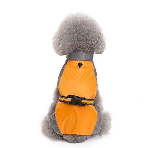 Kleur Bijpassende Hondenkleding Herfst Winter Waterdichte Polyester Regenjas voor Honden Medium Grote Golden Retriever Groen Jongen Ropa