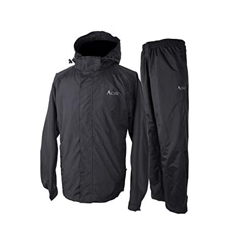 31 0 801lAL. SS500  - Acme Projects Rain Suit (Jacket + Trousers), 100% Waterproof, Breathable, Taped Seam, 10000mm/3000gm, YKK Zipper