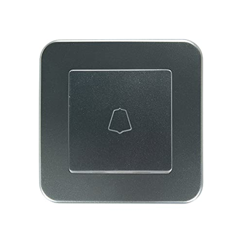 LEDKIA LIGHTING Interruptor Simple Pulsador Classic Gris