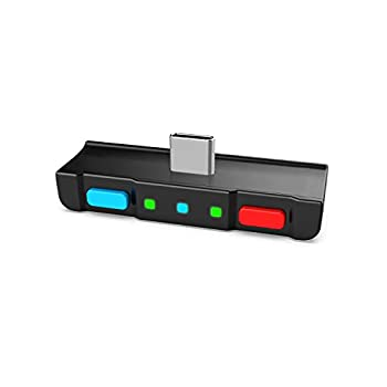 HomeSpot Bluetooth 5.0 Audio Transmitter Adapter with USB C Connector Built-in Digital Mic APTX Low Latency for Nintendo Switch Compatible with AirPods PS4 Bose Sony and Bluetooth Headphones