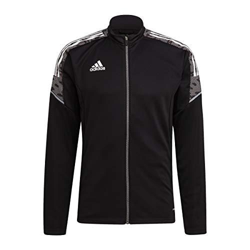 adidas GH7129 CON21 TK JKT Jacket Mens Black White XL