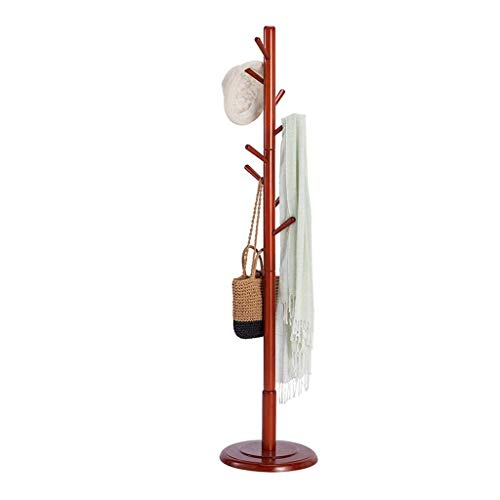 Kapstok Stand, Planken Vrijstaand 8 Hook Coat Tree Disc Base Slaapkamer Woonkamer, (W) 40 keer;(D) 40 keer;(H) 176cm LQH