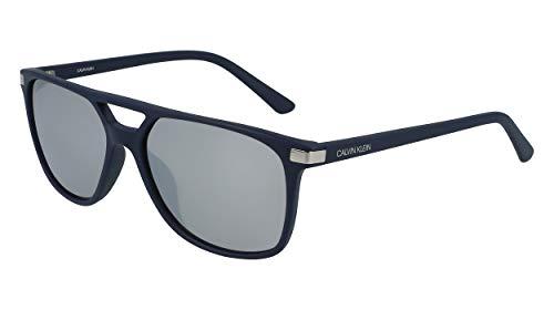 Calvin Klein EYEWEAR CK19526S gafas de sol, BLUE SUEDE, 5816 para Hombre