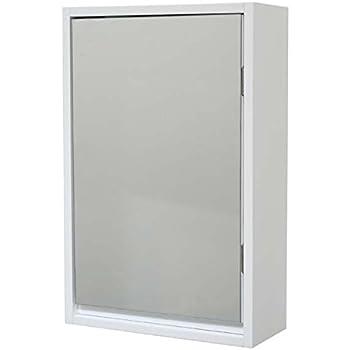 Armario con Espejo 2 en 1 (1 Puerta y 1 Espejo), Color Blanco: Amazon.es: Juguetes y juegos