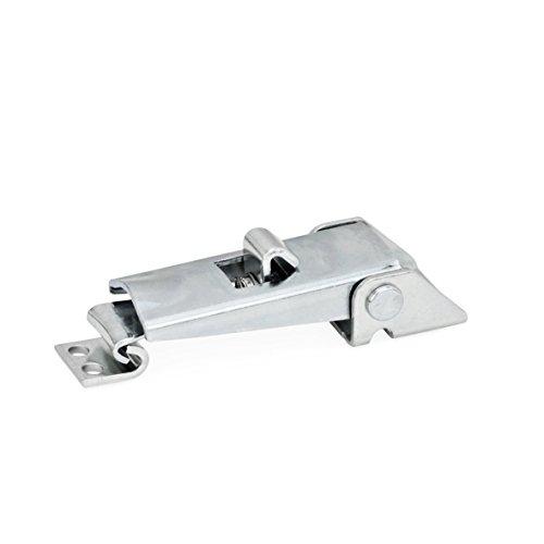 Ganter Normelemente | Spannverschlüsse - GN 831-100-S-ST-1 | Mit Sicherung | Stahl | verzinkt, blau passiviert | 1 Stück