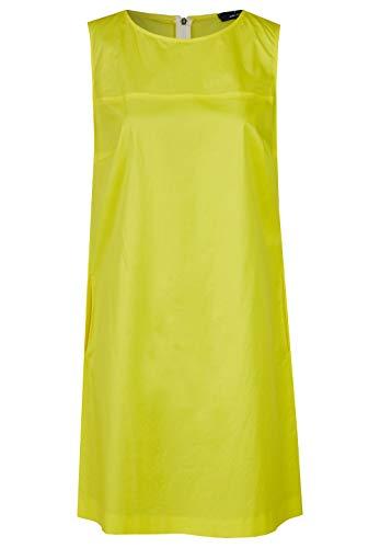 Daniel Hechter Damen Dress Kleid, Gelb (Yellow 130), (Herstellergröße: 44)