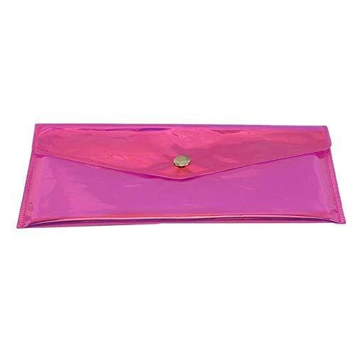Rojo 2020 nuevo lindo neceser cosmético transparente bolsa de cosméticos mujeres viaje maquillaje estuche organizador bolsa de aseo lavado baño kit