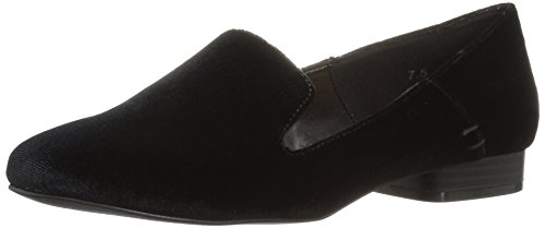 Athena Alexander Women's Lyrik Tuxedo Loafer, Black Velvet, 5 M US