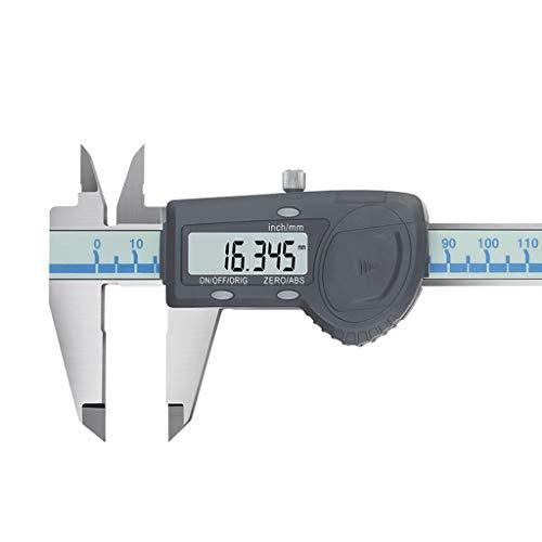 LF stores Nonius-Messschieber Digitaler Messschieber Hochpräziser digitaler Messschieber 0-150-200-300mm Hochpräziser elektronischer Messschieber aus Edelstahl Dimensionale Messung (Größe : 0-150mm)