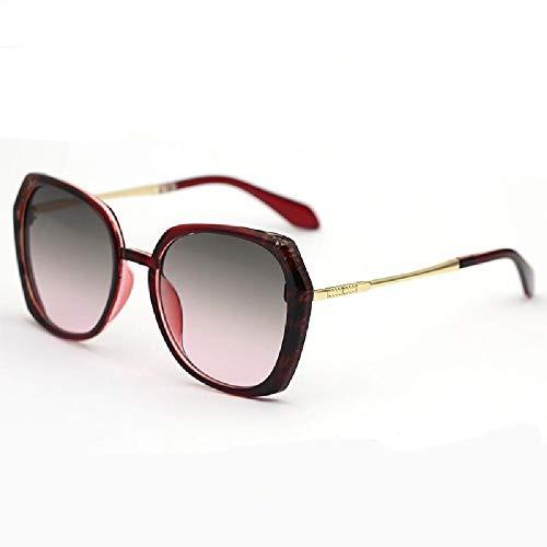 nobrand Damen Sonnenbrille Schwarze Textur schlichte Sonnenbrille modische und vielseitige Sonnenbrille