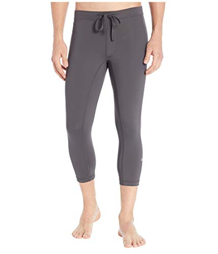 Alo Yoga Men's Warrior Compression Capri, Rich Navy, M