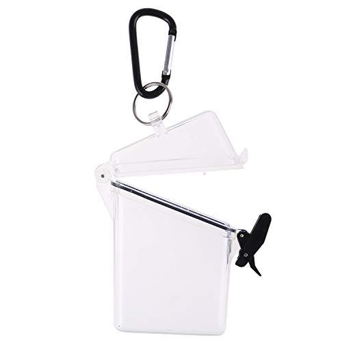 OBANGONG 3 Pcs Sport Waterproof ID Card Badge Holder Case Waterproof Sports Case Vertical Badge Holders with Lanyard and Keychain Photo #2