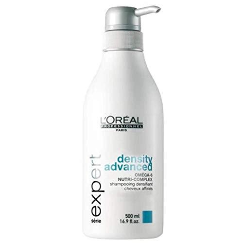 Loreal Density Advanced Shampoo + Pumpe 1 x 500 ml Serie Expert Omega-6 Nutri-Complex für dünner werdendes Haar