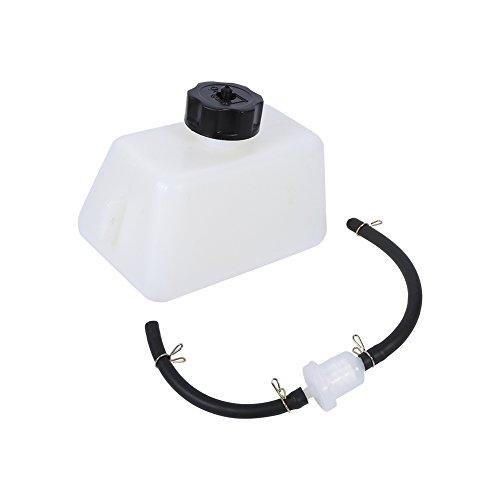 1 Liter Mini-Gastank mit Kraftstofffilterleitung, Kraftstofffilterschlauch mit Tank für 47ccm 49ccm 2-Takt Mini Motor Kids Dirt Pocket Bike