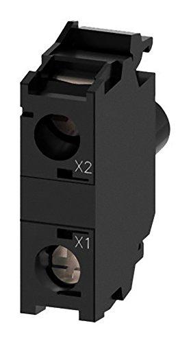 Siemens SIRIUS ATC LED Modul 230V grün Borne Feststellschraube für Frontplatte