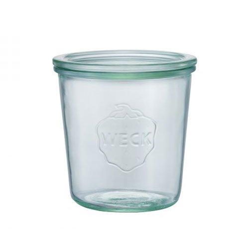 WECK Mold Shape ガラスキャニスター 500ml WE-742