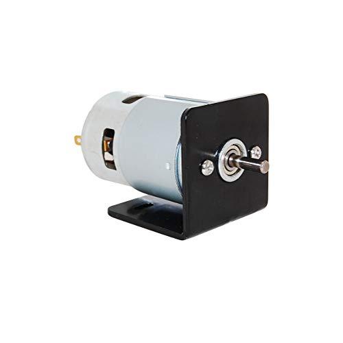 CHANCS Herramienta eléctrica 775 DC Motor de Doble Eje 12V/24V 4000RPM 8000RPM...