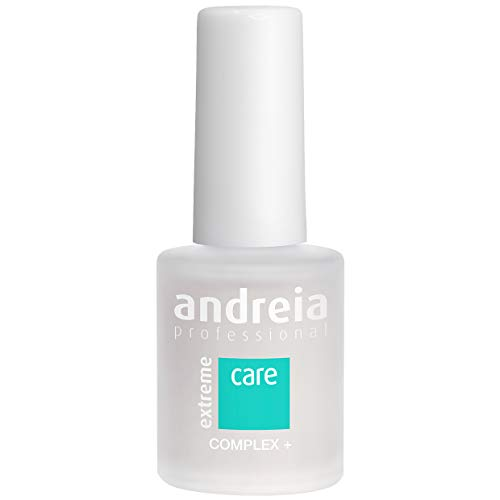 Andreia Professional Extreme Care Complex + - Traitement All-in-1, Base et Top Coat, Hydratant et Durcisseur - 10,5 ml