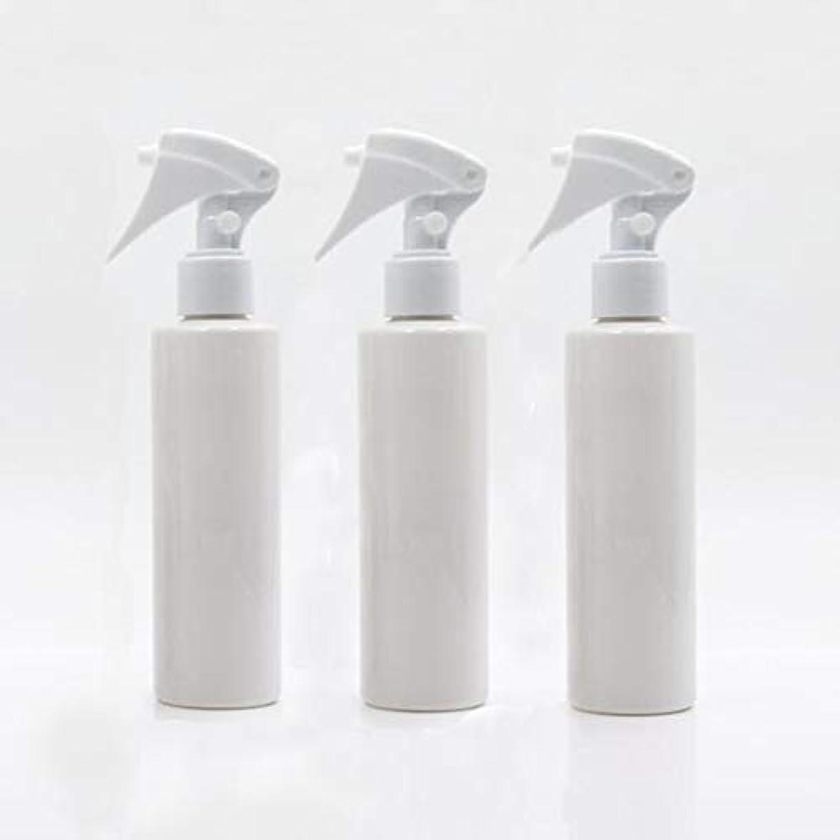 有効のフィルタHomewineasy 極細のミストを噴霧する スプレーボトル 詰め替え容器 200ml 3本セット (ホワイト)