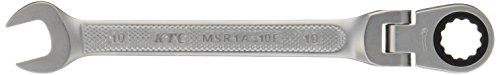 KTC(ケーテーシー) ラチェットコンビネーションレンチ 首振りタイプ MSR1A10F 10mm