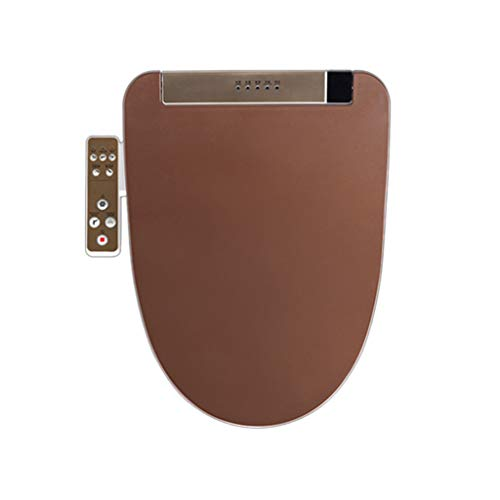 U-type thuis LCD Smart toiletdeksel V type, volautomatische intelligente toiletbril elektronische bidet-toiletbril verwarming, deodorant, reiniging, drogen, krimpen C V