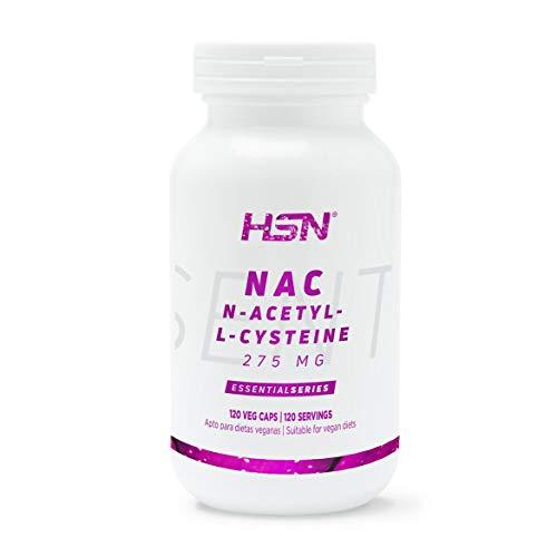 NAC de HSN | 275 mg, N-Acetil-L-Cisteína | Aumenta los Niveles de Glutatión, Alto...