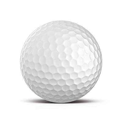 Blanco Bola Golf Impreso