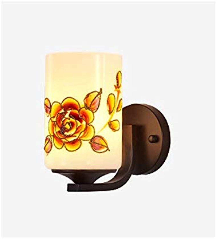 GONGFF Moderne minimalistische Wandleuchten LED-Wandleuchten Leuchten Schlafzimmer Wohnzimmer Korridor Art Wandleuchte Lampe Leuchten, Singlehead