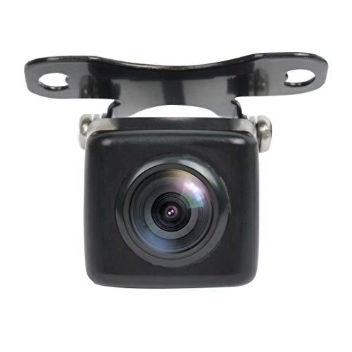 PARKVISION Mini telecamera di retromarcia/Telecamera frontale con buona visione notturna, angolo orizzontale di 110 °, sistema TV PAL con telecamera opzionale per linee guida [PAL-116]