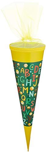 Trötsch ABC Smile Schultüte 35 cm zur Einschulung Geschwistertüte