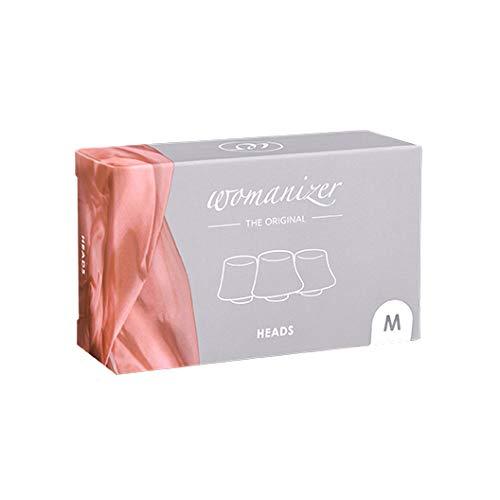Womanizer ウーマナイザー W500 / Pro 40 / Starlet / + Plus 切り替えなシリコン ヘッド (中)