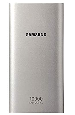 Samsung Original Type C Dual Port Battery Pack 10 Ah with Adaptative Fast Charging, Silver