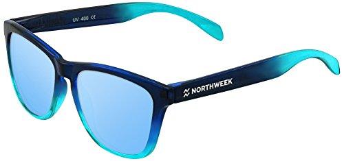 NORTHWEEK Gradiant Gafas de sol, Azul, 52 Unisex