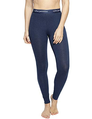 Cyberjammies 4297 Women's Harper Navy Blue Cotton Ankle Length Leggings