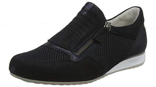 Gabor Shoes Damen Comfort Basic Sneaker, Blau (Pazifik 36), 37 EU
