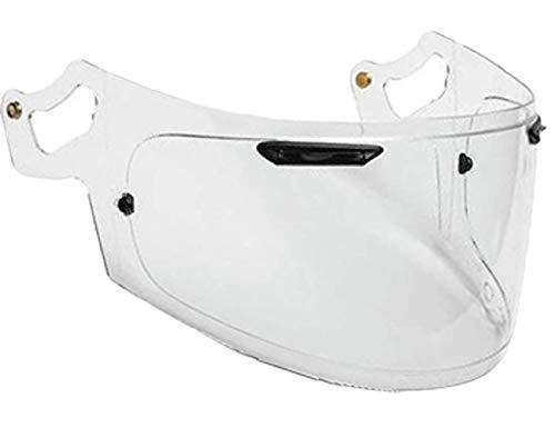 VRacing Arai Visier Rx7v Helmvisier RX7x, Chaser-X, Corsair-X, Signet-X, Quantum-X, QV-pro, Signet-x, Defiant-x, Renegade-V Helm Vas Aftermarket Pinlock Ready (Transparent Klar)