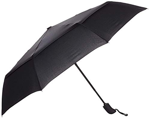 FIGMENT Umbrella with Auto Open and Close Function, Classic Folding Automatic Umbrella for Rain or Sun UV Protection Men, Women, Kids, Boys, and Girls