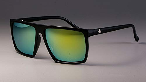 AdronQ Gafas De Sol Cuadradas Retro Gafas para Hombres Y Mujeres Sombreado Protección UV