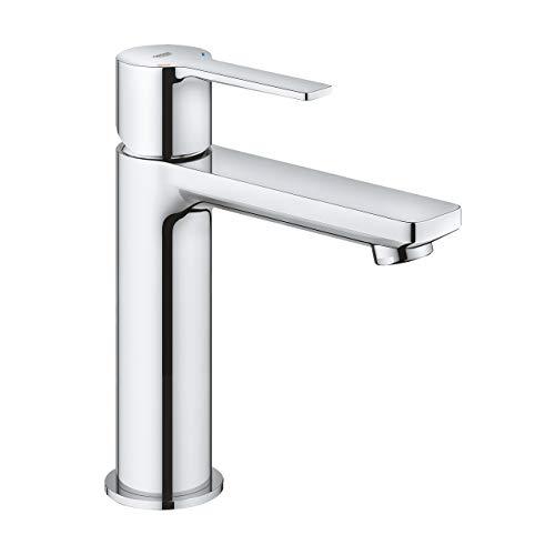 Grohe Lineare - Grifo mezclador monomando para lavabo, talla S, cromado