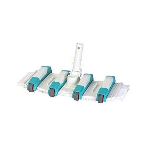 Gre 40018N - Limpiafondos manual de Piscina, Rotativo y con