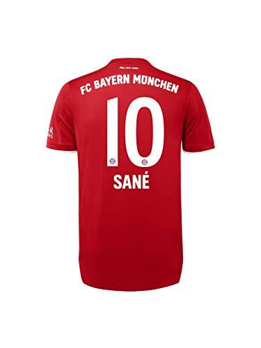 FC Bayern München Authentic Home-Trikot Saison 2020/21, Gr. L, Leroy Sané