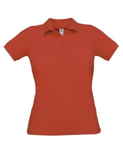 Coole-Fun-T-Shirts Polo pour Femme Rouge Rouge - Rouge - X-Large