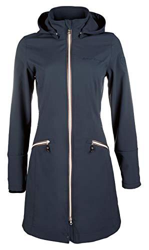 HKM Moena-6900 Veste Longue Softshell pour Adulte Bleu foncé Taille XL 6900 Bleu foncé Taille XL