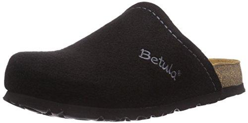 Betula Unisex-Erwachsene House Clogs, Schwarz (Black), 37 EU